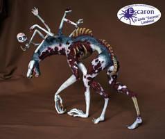 The Lost Soul - Sculpture by Escaron