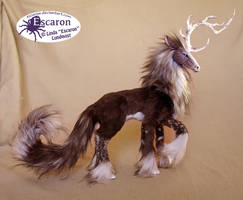 Quill the Uniqorn - Posable Art Doll by Escaron