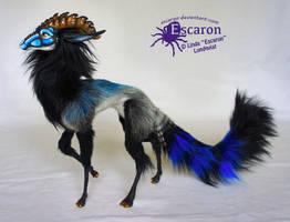Megh the Qaura - Art Doll by Escaron