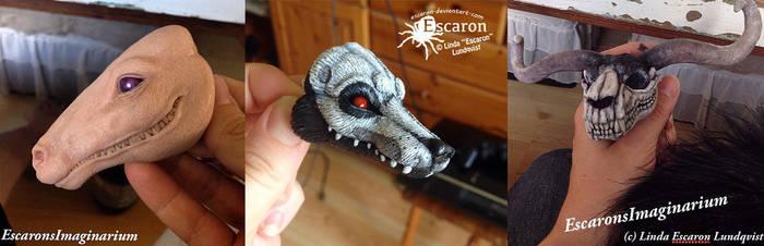 WIP: The Halloween Crew by Escaron
