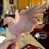WIP 2: Eagle - Sculpture by Escaron