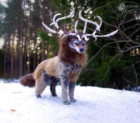 The Spirit Wolf - Artdoll by Escaron