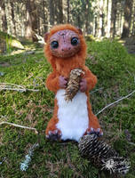 In the woods - Artdoll by Escaron