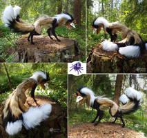 Kirr the Kitsune - Artdoll (SOLD) by Escaron