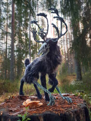 The Wendigo - Artdoll (SOLD) by Escaron