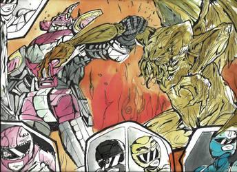 Power Rangers vs Cthulhu by Neko-Minos