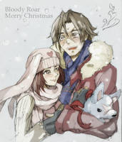 Bloody Roar - Merry Christmas by Neko-Minos