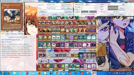 OC Deck- Peach Mutou's Deck by DragonHero15
