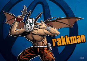 The Rakkman by Ponyraptor