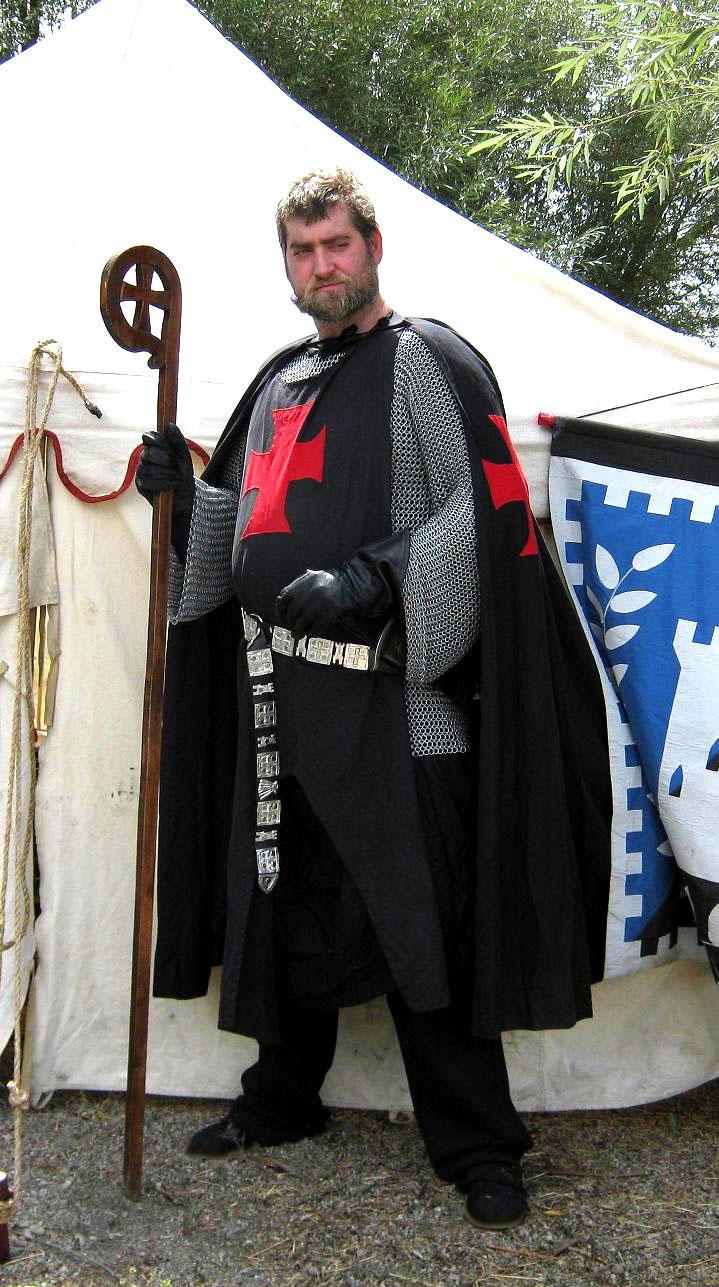 Prior Helmut in Armor by vonmeer