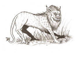 Historical Manticore by vonmeer