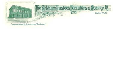 The Arkham Trustees Executors Agency Co Prop by vonmeer