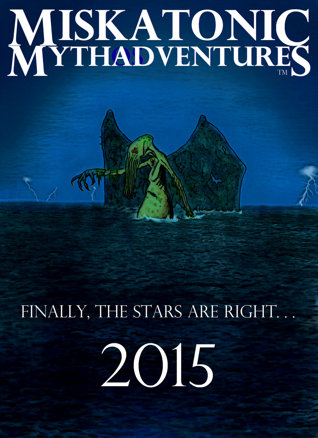 Miskatonic Mythadventures (I'm trademarked!) by vonmeer