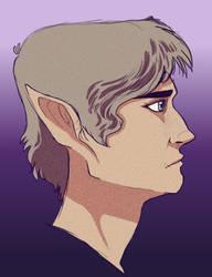 Attractive elf boy by SaunteringStorms