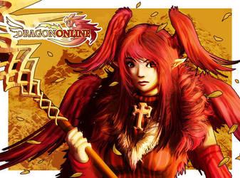 ::Dragon Online-Blood Siren:: by Wenart