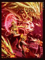 Rangda Priestess by Wenart