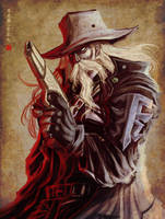 ::COmmision::Old cowboy by Wenart