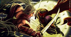 Commision ::Kagemusha Duel:: by Wenart