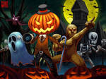 Happy Halloween 2013 by Wenart