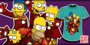 Iron Simpsons by Wenart