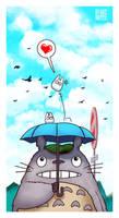 Totoro by Wenart