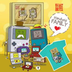 Nintendo Handheld family by Wenart
