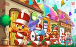 Little parade by Wenart