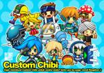 Chibi Party by Wenart