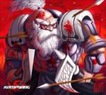 Berserker dwarven by Wenart