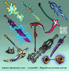weapon sprite by Wenart