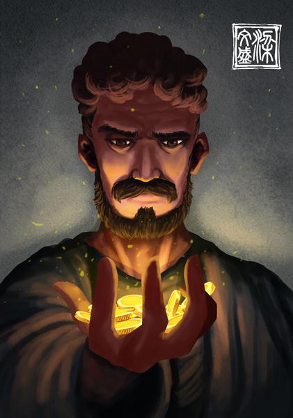 Judas by Wenart