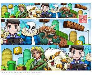 Banner commision by Wenart