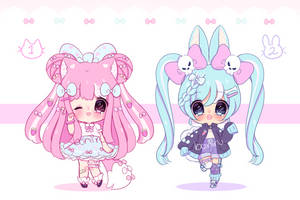 cute adopts #6 set price (closed) by boniru