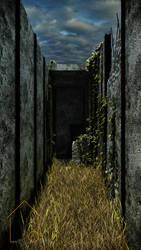 Forgotten alley by angelujo