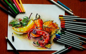 Autumn chilli peppers by sweetTais