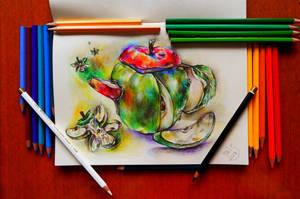 Apple kettle by sweetTais