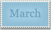 Stamp: March by emerlyrose