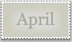 Stamp: April by emerlyrose