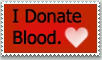 Stamp: I Donate Blood by emerlyrose
