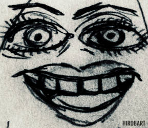 Nightmare fuel  by HirobArt