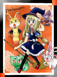 Pokemon - Halloween XY by cyndaquil1998