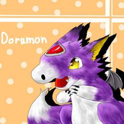 Digimon-Dorumon by cyndaquil1998