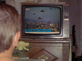 Space Invaders Tv by Odiabo