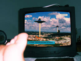 Space Invaders Tv II by Odiabo