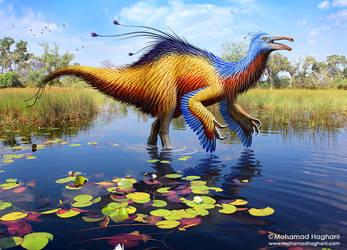 Deinocheirus by haghani