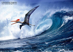 Pterodactylus by haghani