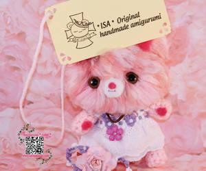 Amigurumi no 10 Pink bunny by RuRuVictoria