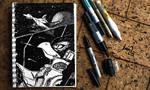 Ace Pilot Falco Lombardi (ink-twenty) by darkspeeds