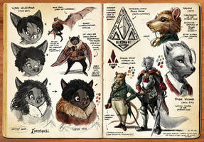 Watercolor Sketchbook (Pgs 09-10) by darkspeeds