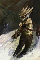 Sword and Water by darkspeeds
